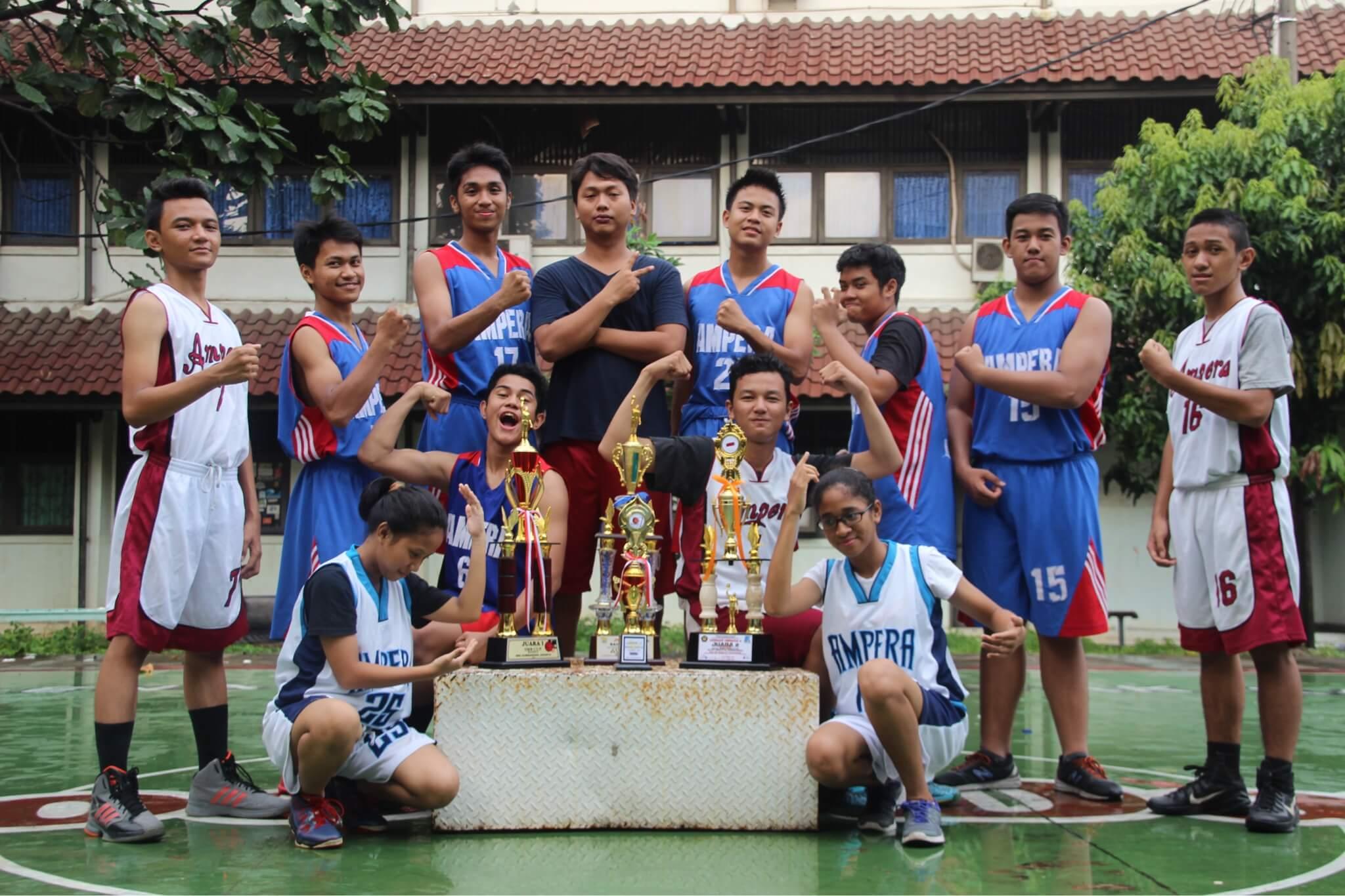 Team Basket hampir selalu juara di setiap turnamen yang diikuti
